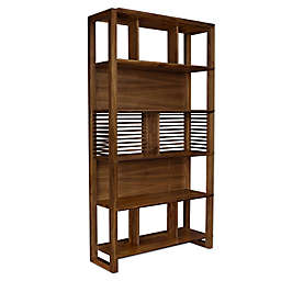 Lyndon Crafted Wood Bookcase