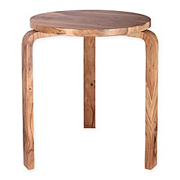 Kenroy Home Stylus Accent Table in Natural Sanded