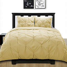 Cotone Pintuck Duvet Cover Set