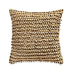 Chindy Square Throw Pillow in Beige
