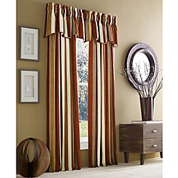 J. Queen New York™ Valdosta Stripe Rod Pocket Window Curtain Panel