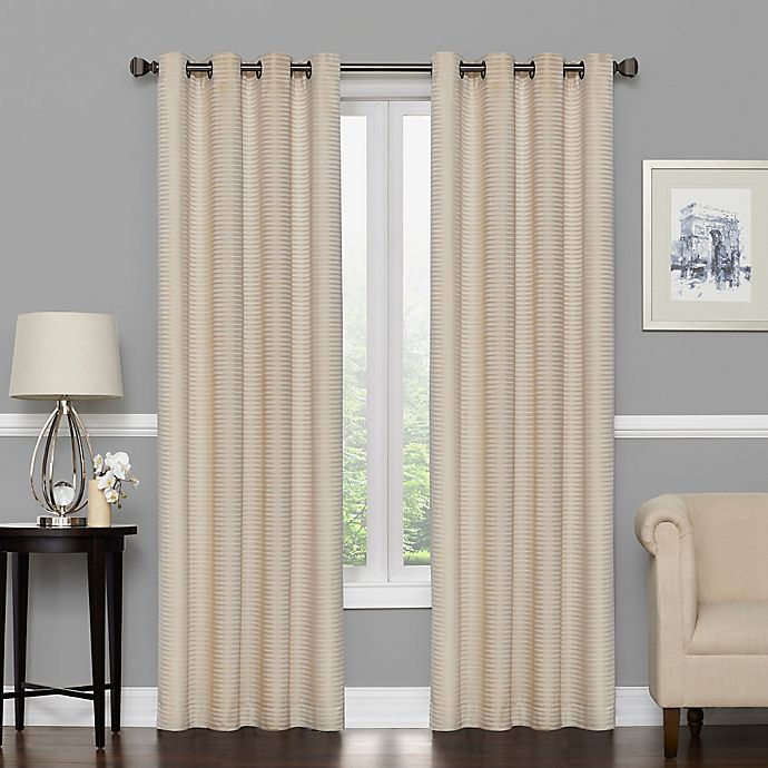 Alternate image 1 for Vue Signature Amina Grommeted Window Curtain Panel