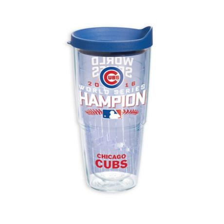 54d74f419bd Tervis® MLB World Series Champion Chicago Cubs 24 oz. Wrap Tumbler with Lid  | Bed Bath & Beyond