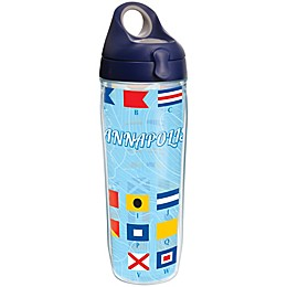 Tervis® Nautical Flag Annapolis 24 oz. Wrap Water Bottle with Lid
