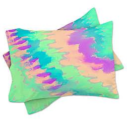 Deny Designs Rebecca Allen Some Kind of Wonderful Standard Pillow Sham in Blue