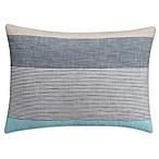 KAS Seneca Standard Pillow Sham in Aqua
