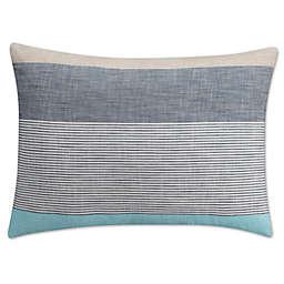 KAS Seneca King Pillow Sham in Aqua