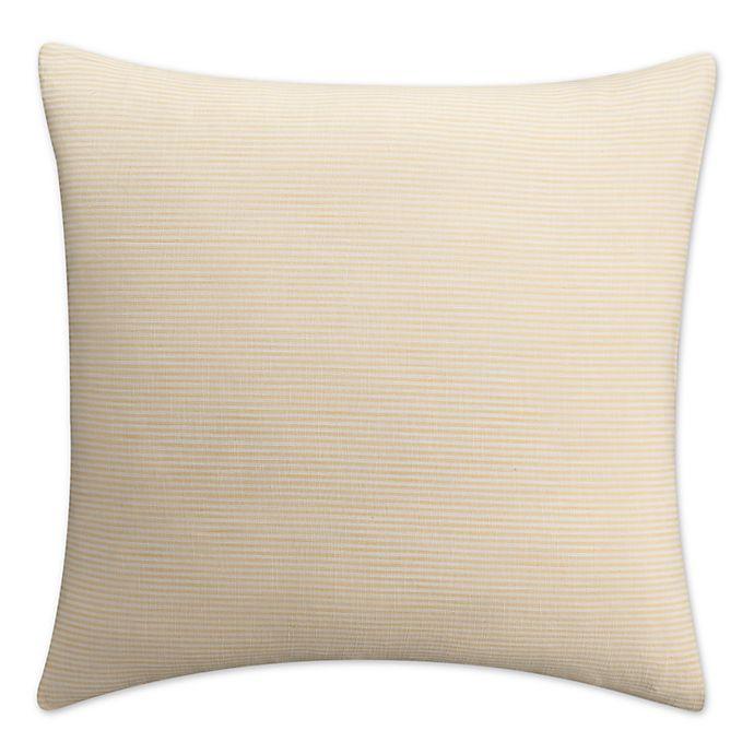 Alternate image 1 for KAS Seneca European Pillow Sham in Yellow