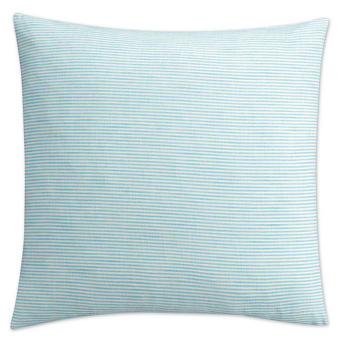 Alternate image 1 for KAS Seneca European Pillow Sham in Aqua