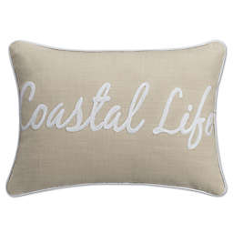 KAS Seneca Coastal Oblong Throw Pillow