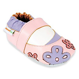 Momo Baby Scattered Daisy Shoe in Pink