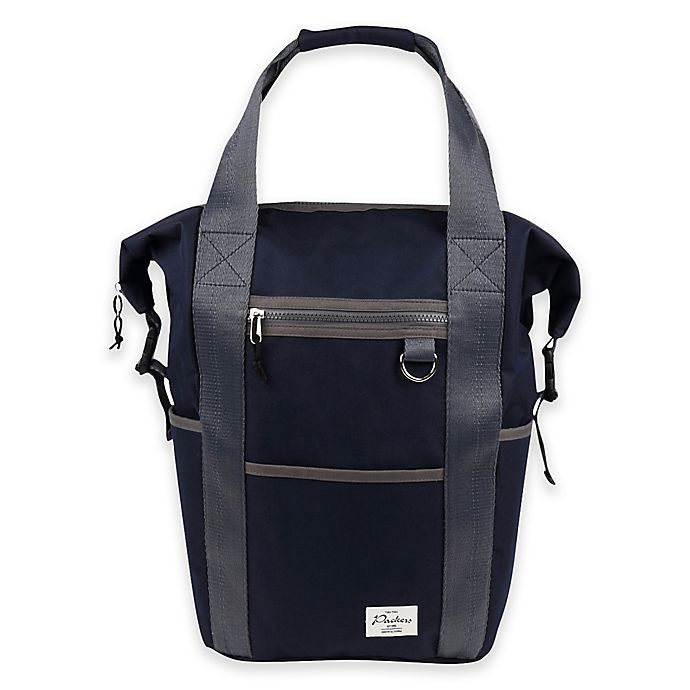 Alternate image 1 for Thea Thea Packers Backpack Diaper Bag in Navy