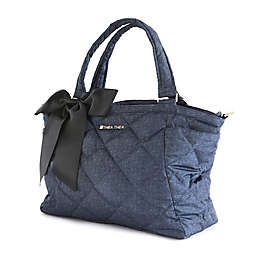 Thea Thea Indigo Diaper Bag in Navy