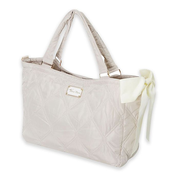 Alternate image 1 for Thea Thea Sara Diaper Bag in Ivory