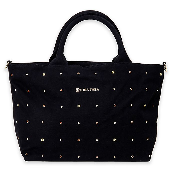 Thea Madison Diaper Bag In Black View A Larger Version Of This Product Image