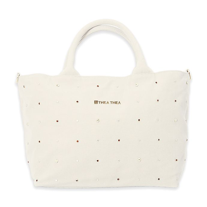 Alternate image 1 for Thea Thea Madison Diaper Bag in Ivory