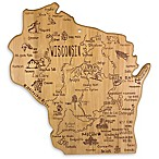 Totally Bamboo® Wisconsin Destination Cutting/Serving Board