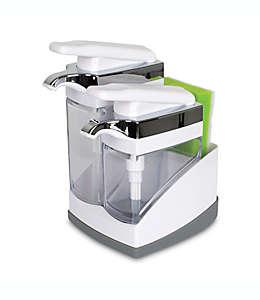 Dispensador doble con esponja Casabella® Sink Sider™