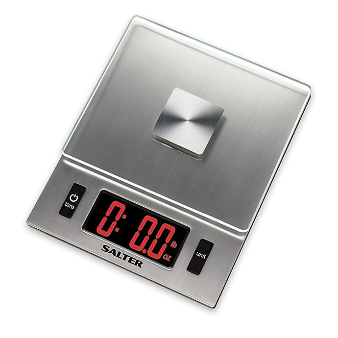 Alternate image 1 for Salter LED Display Digital Kitchen Food Scale