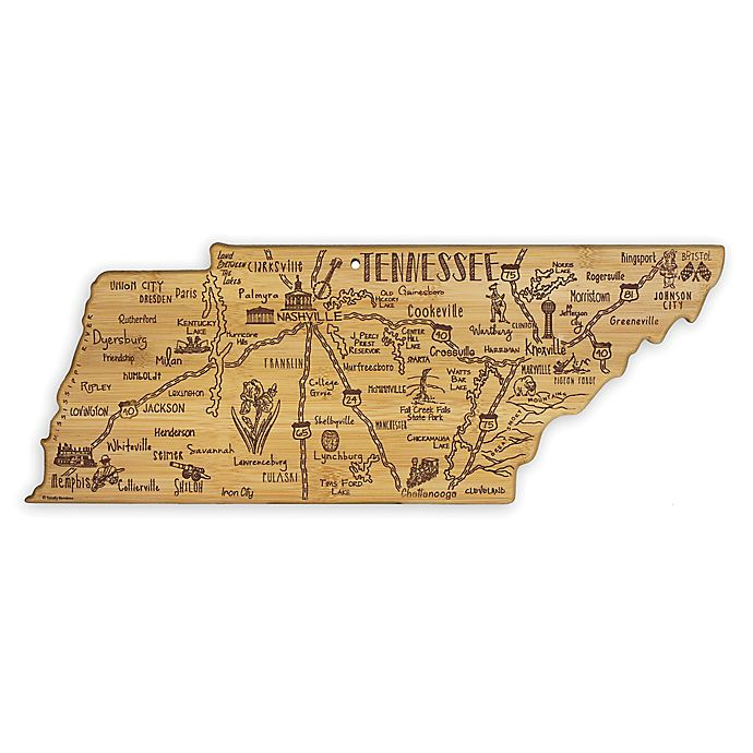 Alternate image 1 for Totally Bamboo® Tennessee Destination Cutting/Serving Board