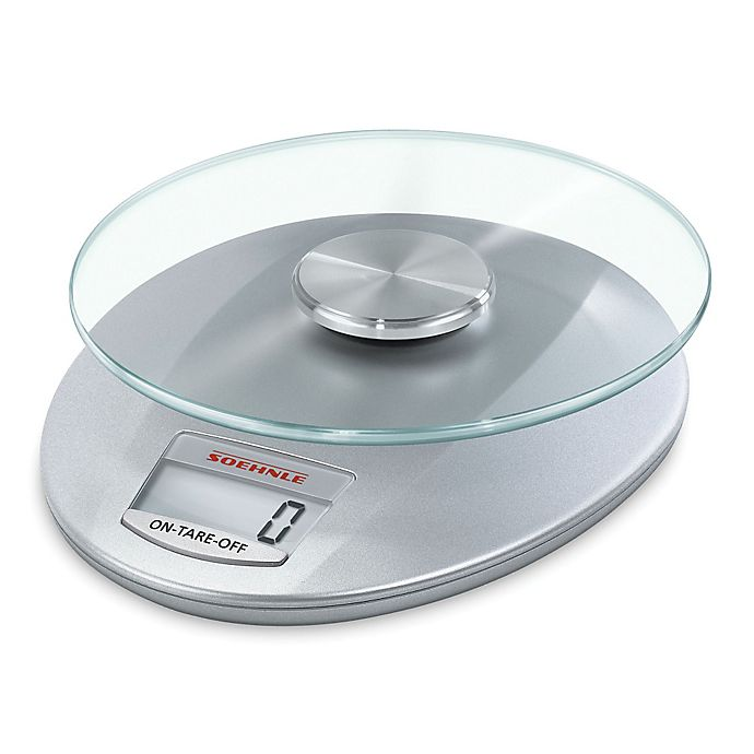 Alternate image 1 for Leifheit Soehnle Roma Digital Kitchen Scale in Silver