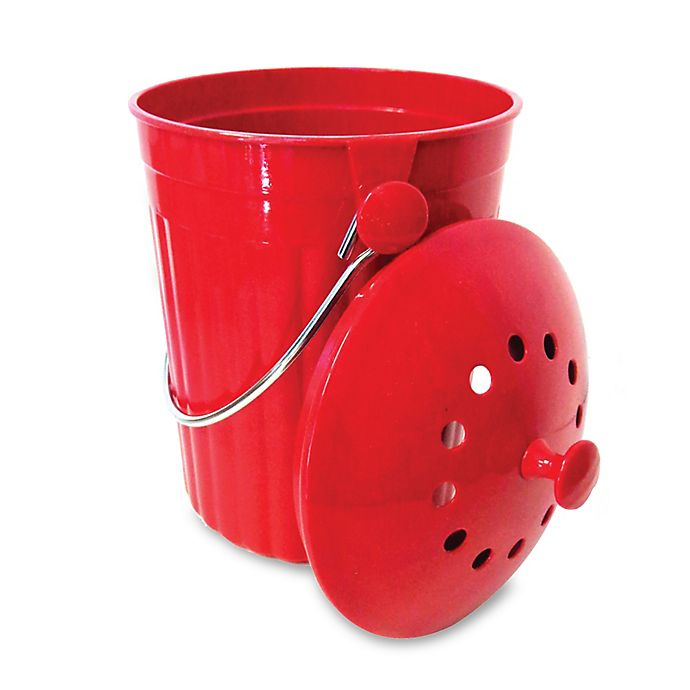 Alternate image 1 for Natural Home Products Moboo® Compost Bin in Cherry