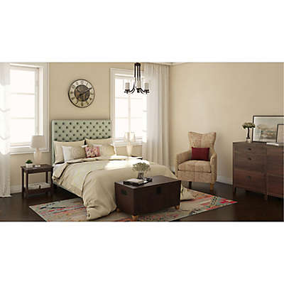 Tufted Velvet Bedroom