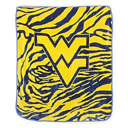 Collegiate Soft Raschel Throw Blanket