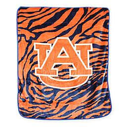 Auburn University Soft Raschel Throw Blanket