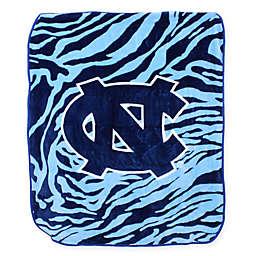University of North Carolina Soft Raschel Throw Blanket