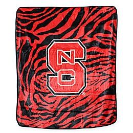 North Carolina State University Soft Raschel Throw Blanket