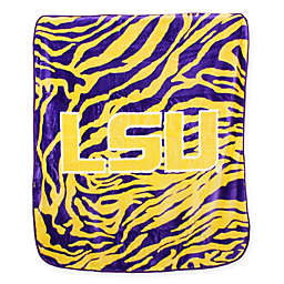 Louisiana State University Soft Raschel Throw Blanket