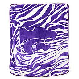 Kansas State University Soft Raschel Throw Blanket
