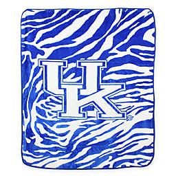 University of Kentucky Soft Raschel Throw Blanket
