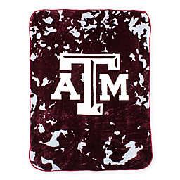Texas A&M University Oversized Soft Raschel Throw Blanket