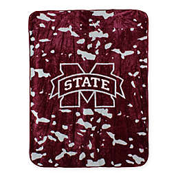 Mississippi State University Oversized Soft Raschel Throw Blanket