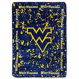 West Virginia University Oversized Soft Raschel Throw Blanket