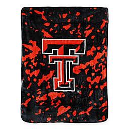 Texas Tech University Oversized Soft Raschel Throw Blanket