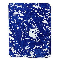 Duke University Oversized Soft Raschel Throw Blanket