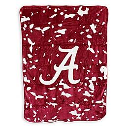 University of Alabama Oversized Soft Raschel Throw Blanket