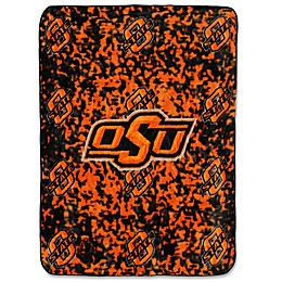Oklahoma State University Oversized Soft Raschel Throw Blanket