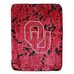 University of Oklahoma Oversized Soft Raschel Throw Blanket