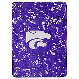 Kansas State University Oversized Soft Raschel Throw Blanket