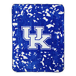 University of Kentucky Oversized Soft Raschel Throw Blanket