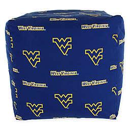 West Virginia University Cube Cushion
