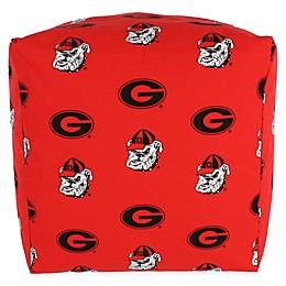 University of Georgia Cube Cushion