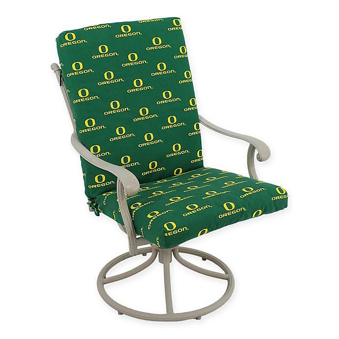Alternate image 1 for University of Oregon 2-Piece Chair Cushion Set