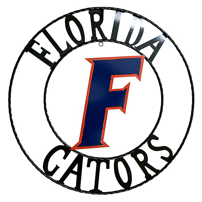 Alternate image 1 for University of Florida 18-Inch Wrought Iron Wall Décor