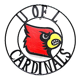 University of Louisville 24-Inch Wrought Iron Wall Décor