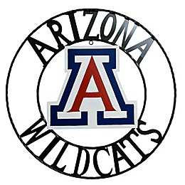 University of Arizona 24-Inch Wrought Iron Wall Décor